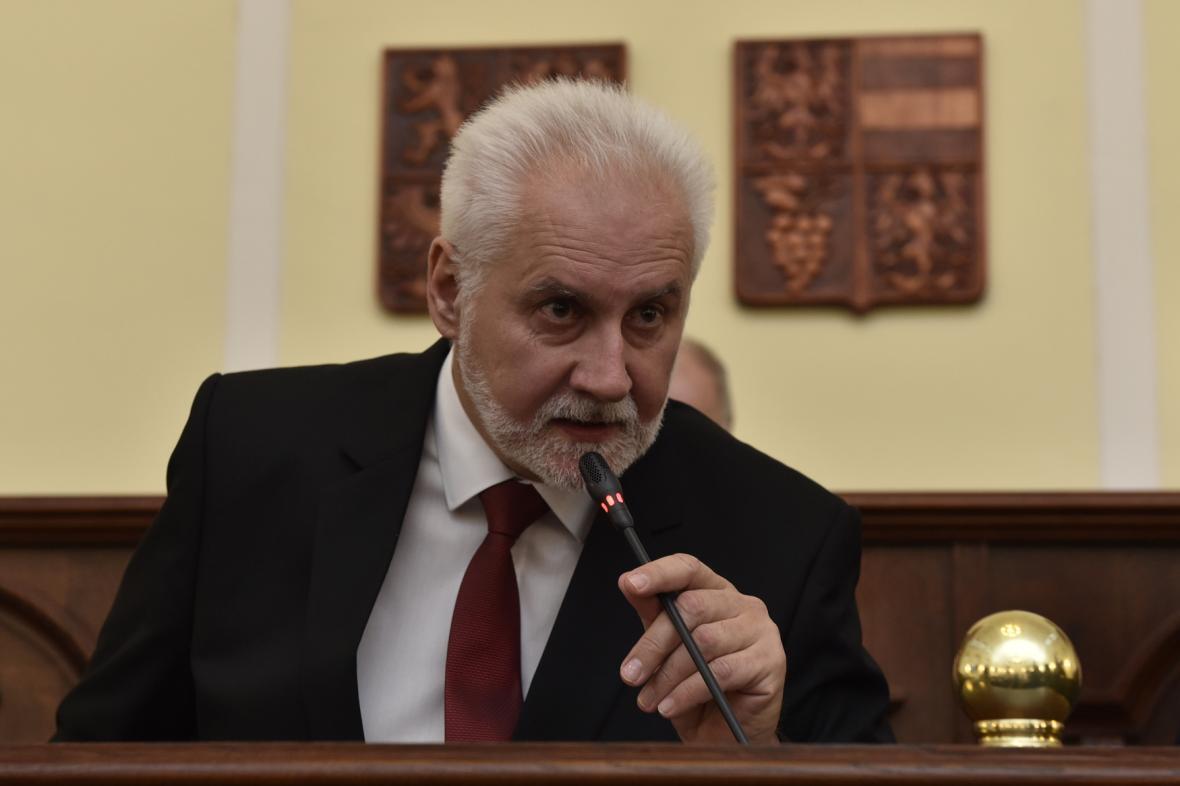 Hejtman Jihomoravského kraje Bohumil Šimek (ANO)