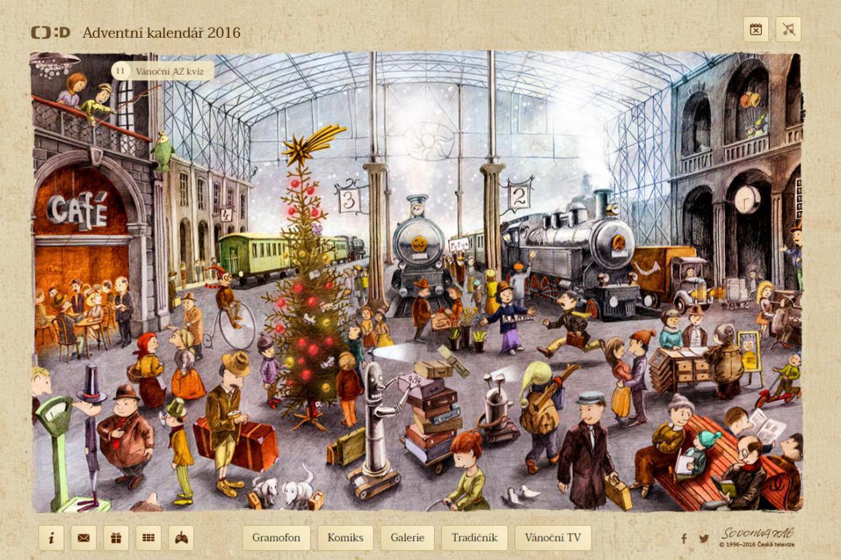 Adventní kalendář ČT:D