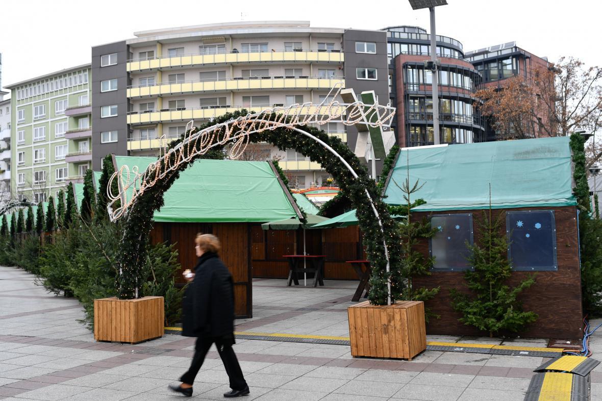 Vánoční trhy v Ludwigshafenu
