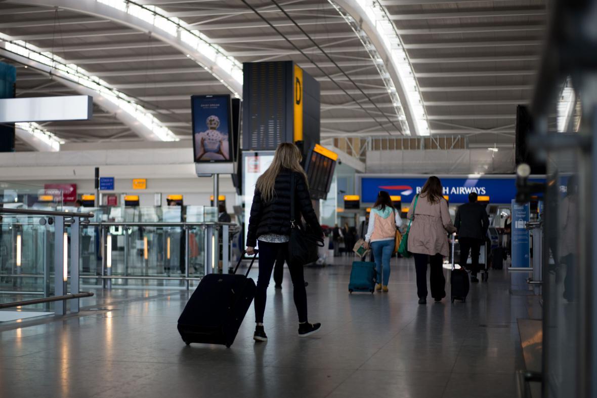 Hlavní britské letiště - Heathrow v Londýně