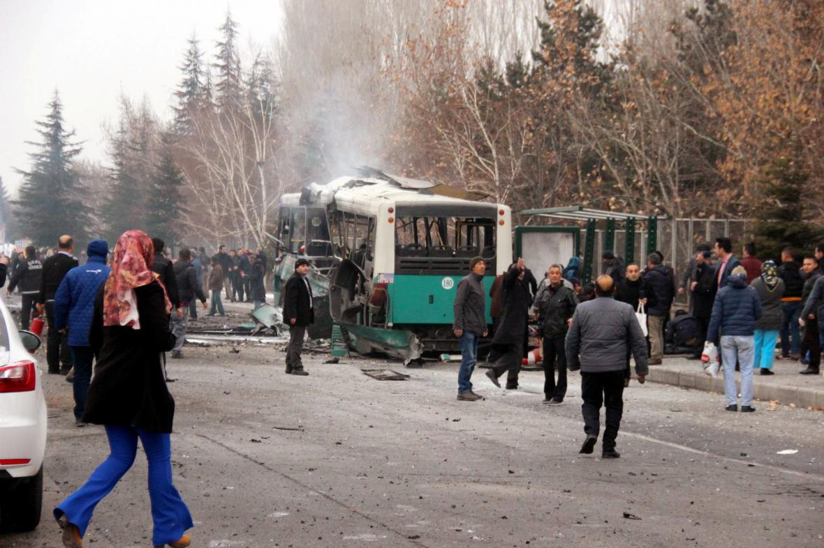 Výbuch v tureckém městě Kayseri