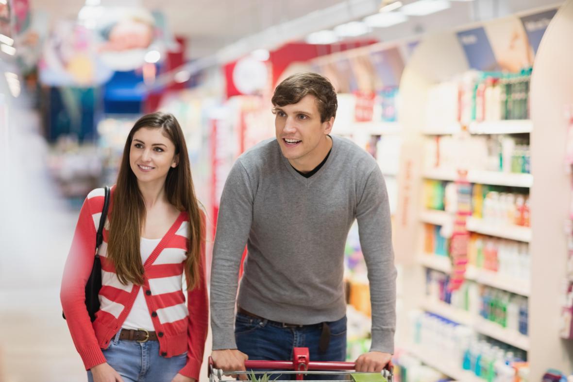Zákazníci nejprve vidí zboží v jeho zorném poli