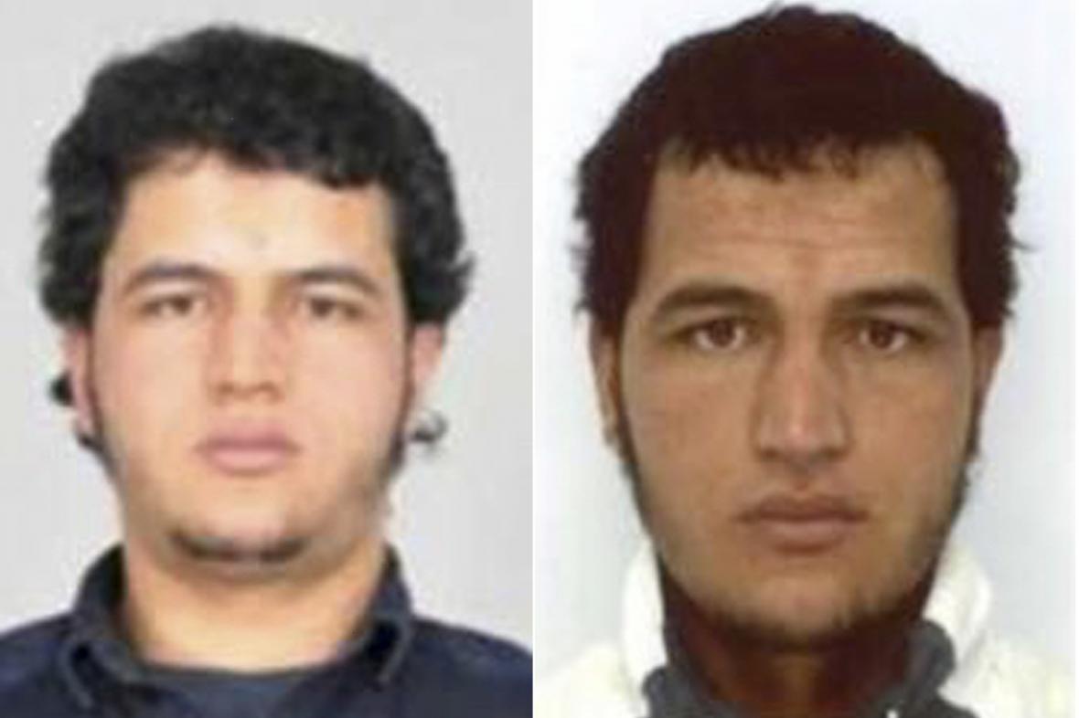 Podezřelý muž známý jako Anis Amri