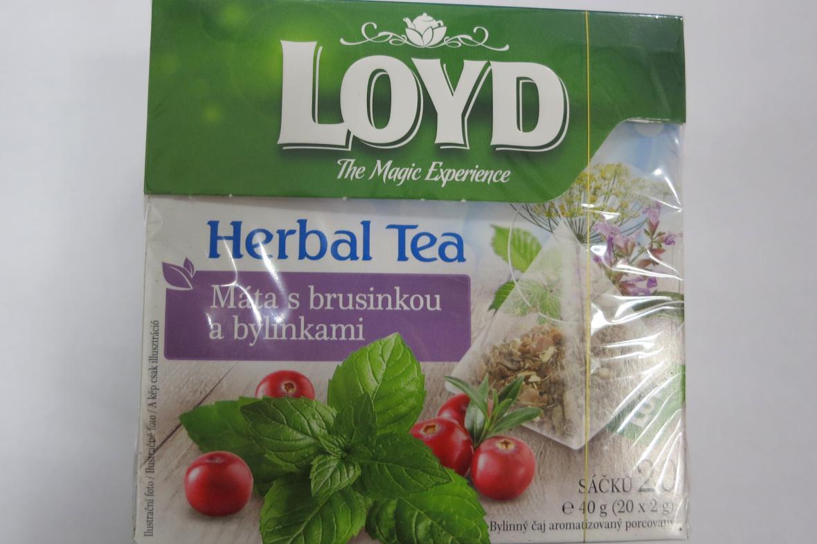 Čaj, který obsahuje látky s halucinogenní účinky.