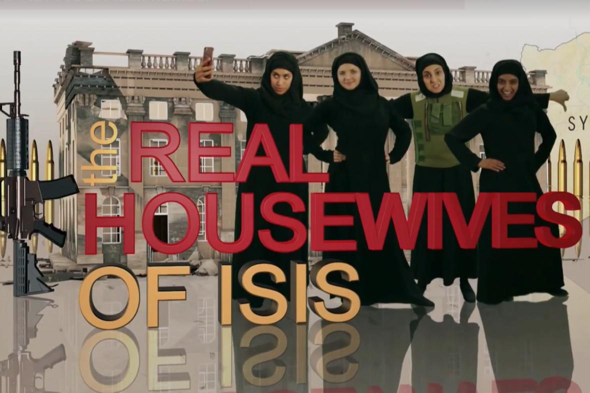 Video BBC parodující život manželek příslušníků hnutí Islámský stát