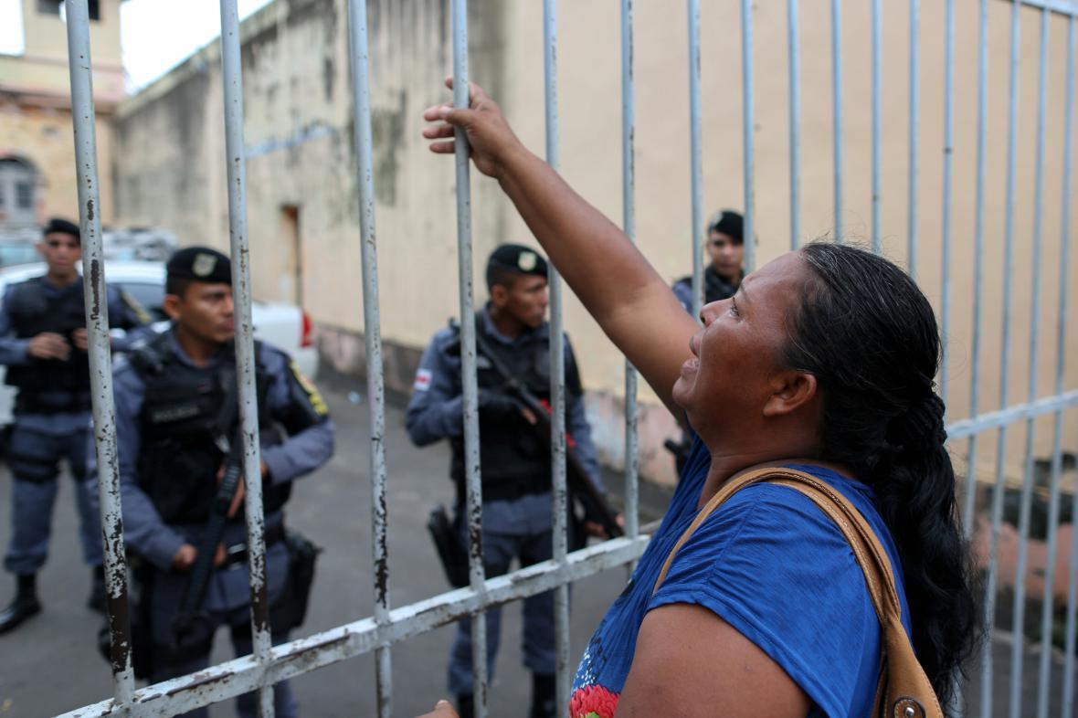 Příbuzní brazilských vězňů