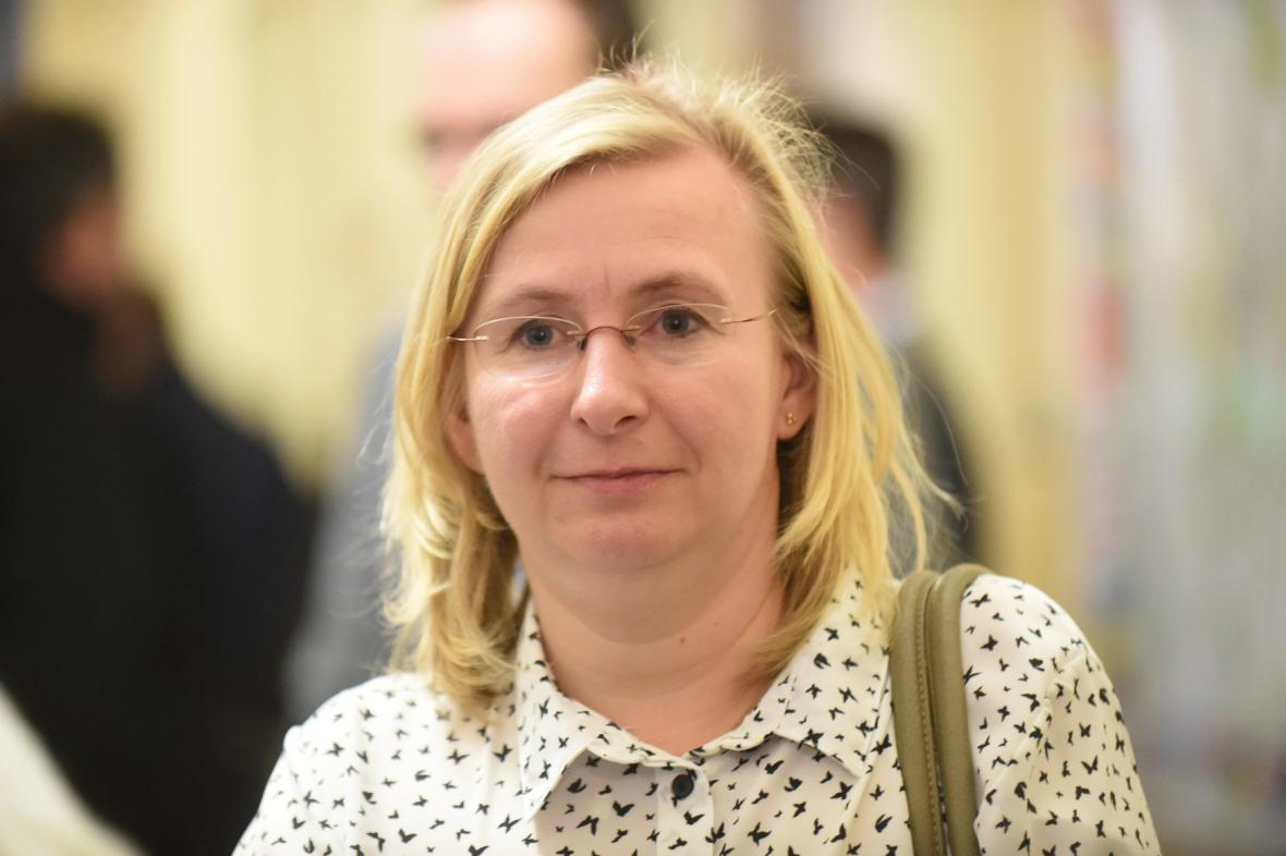 Tršická učitelka Vanda Fabiánová