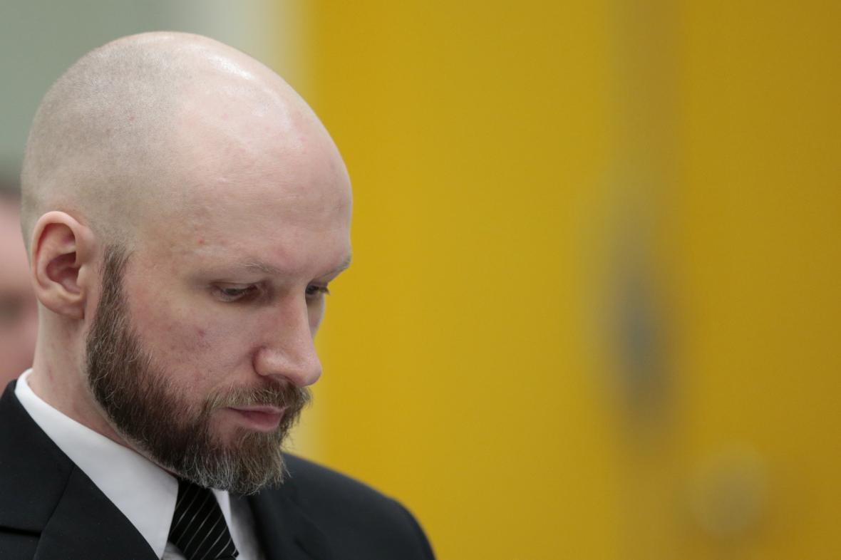 Anders Breivik před soudem