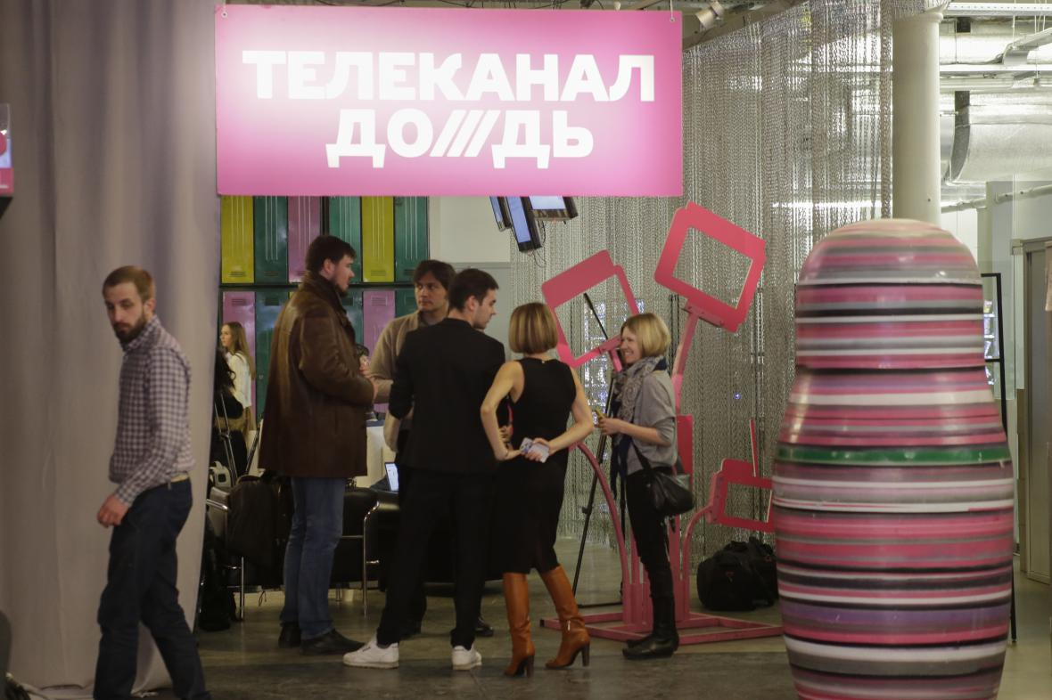 Ruská televize Dožď