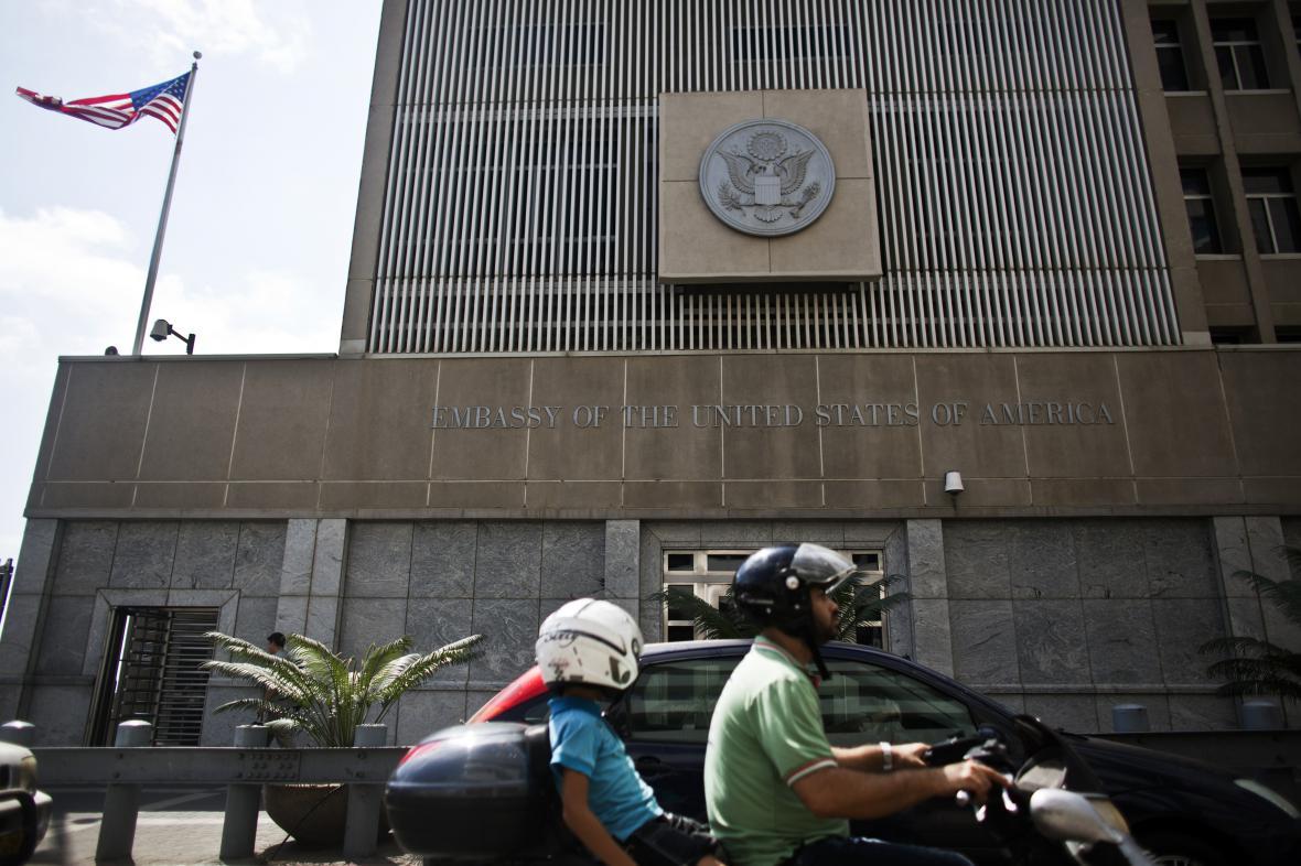 Americká ambasáda v Tel Avivu