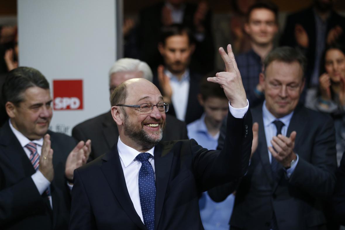 Martin Schulz po schválení kandidatury