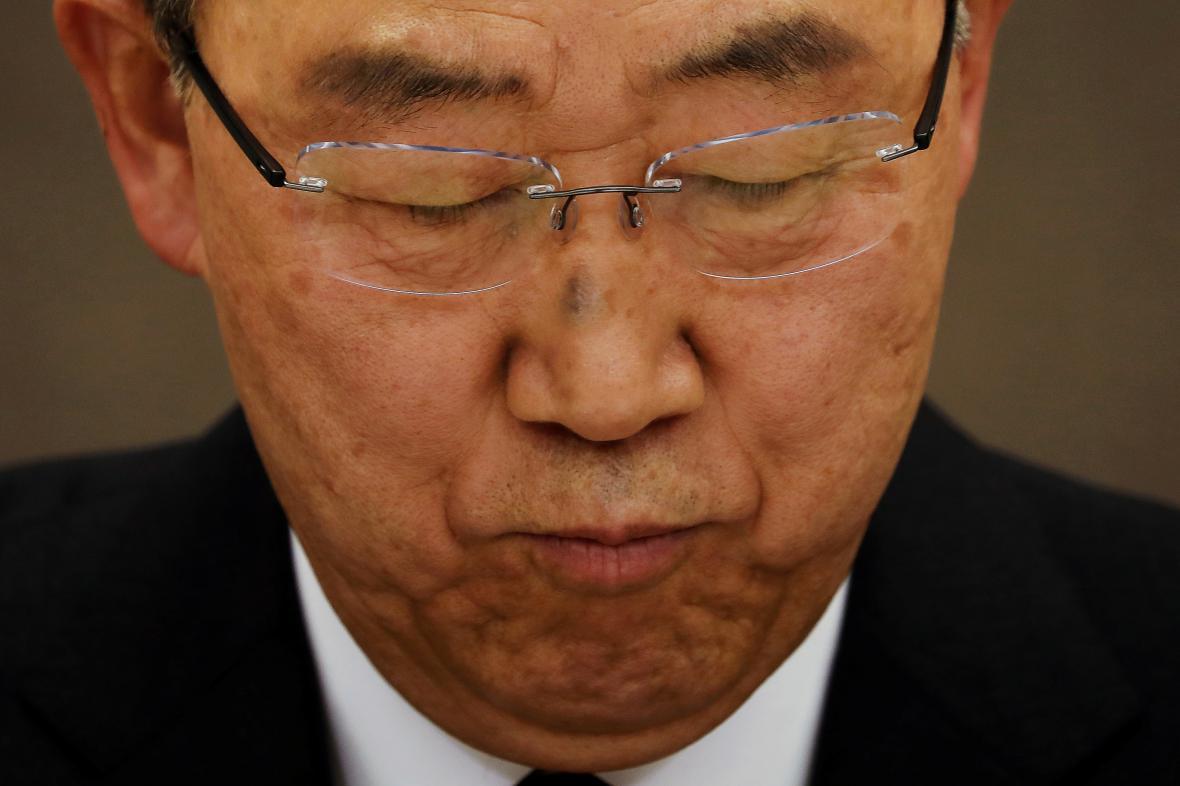 Pan Ki-mun nebude korejským prezidentem