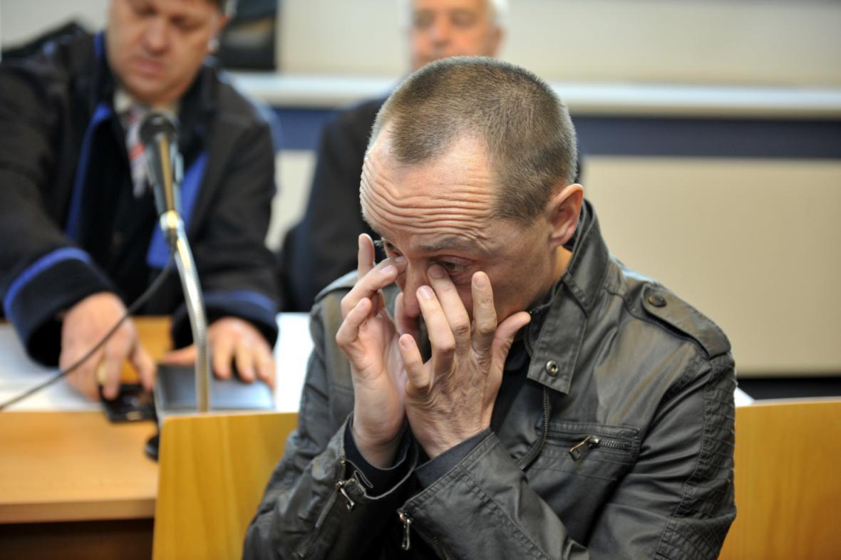 Jeden z obžalovaných - Petr Čagan soudu tvrdil, že je nevinný