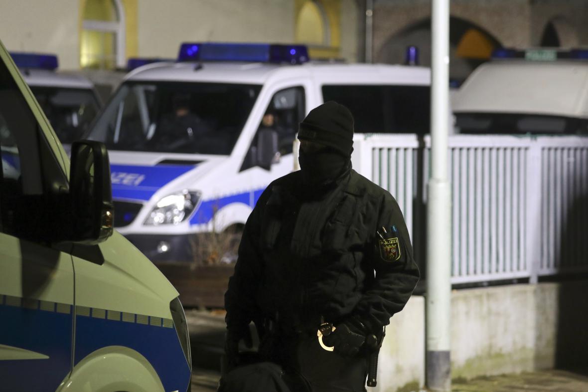 Zátah proti islamistům v Německu