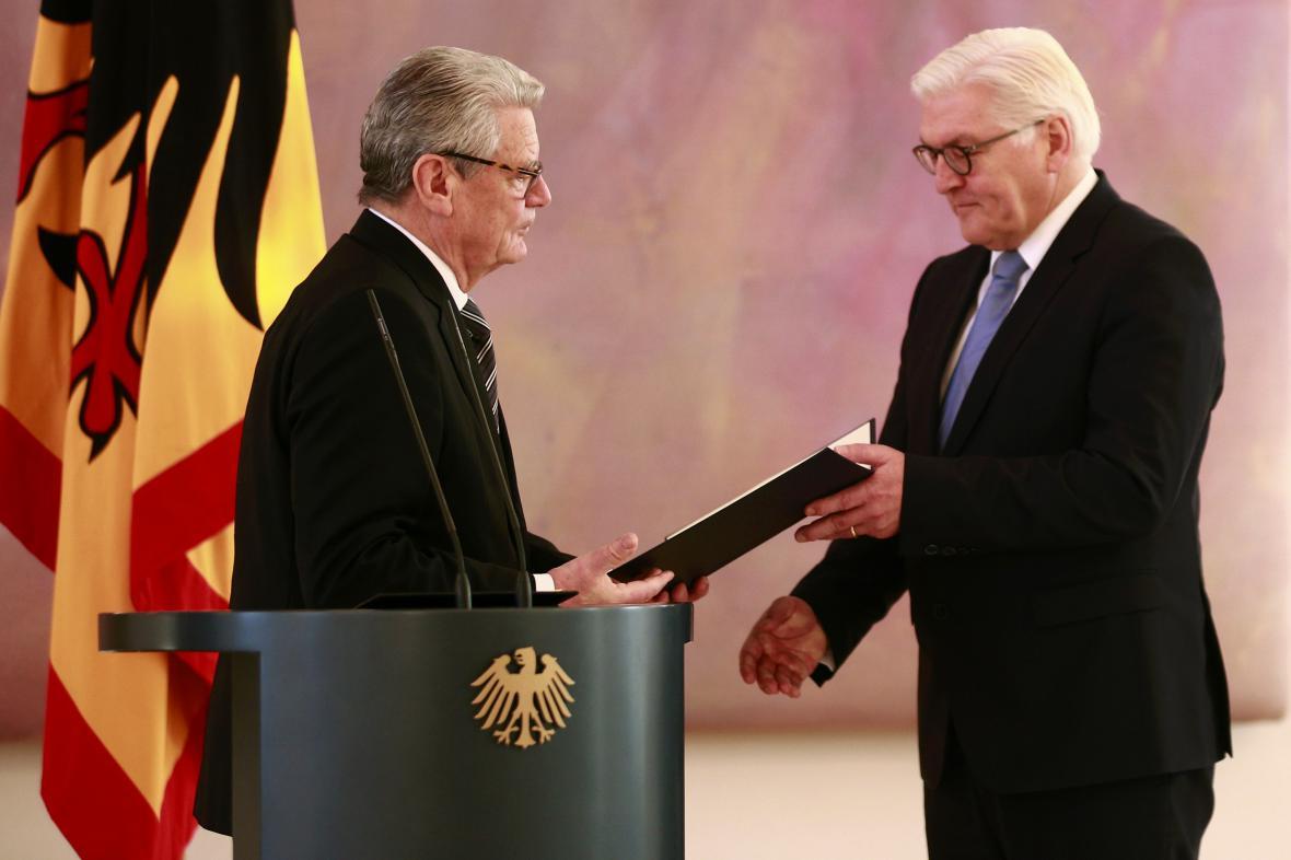 Joachim Gauck a Frank-Walter Steinmeier