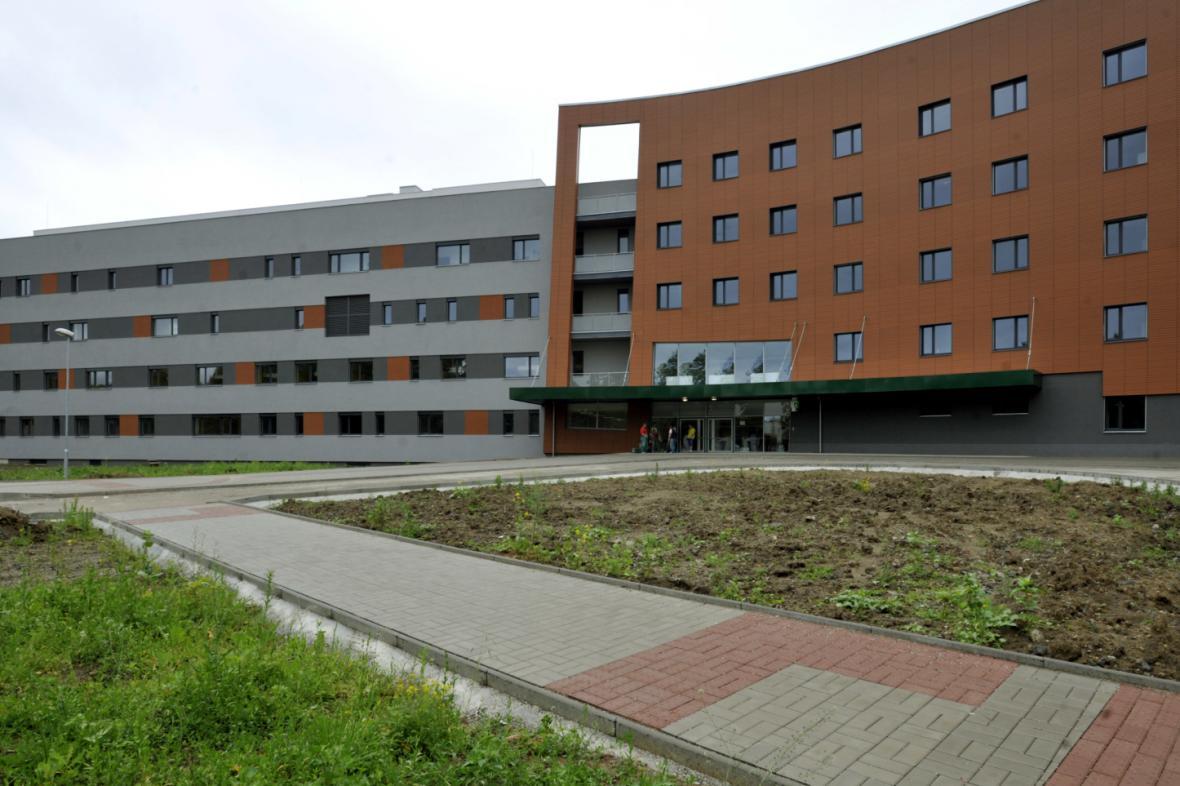 Centrální budova Uherskohradišťské nemocnice