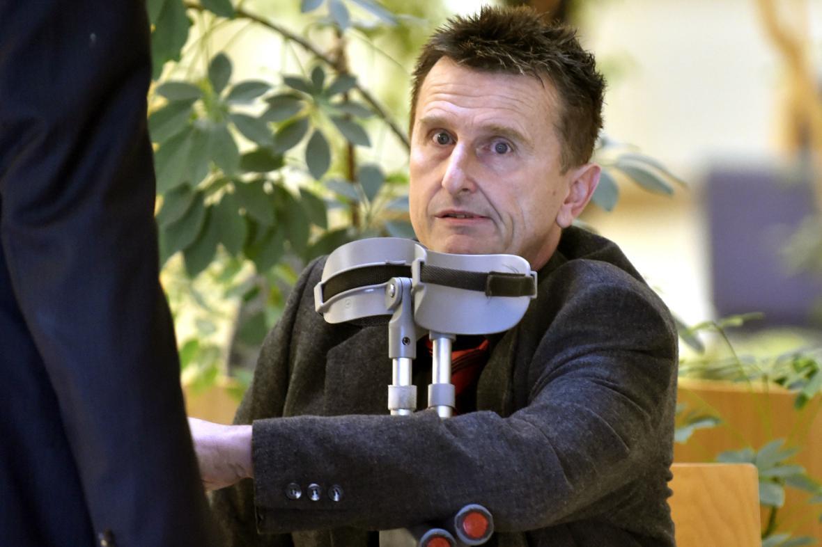 Pavel Sousedík u soudu