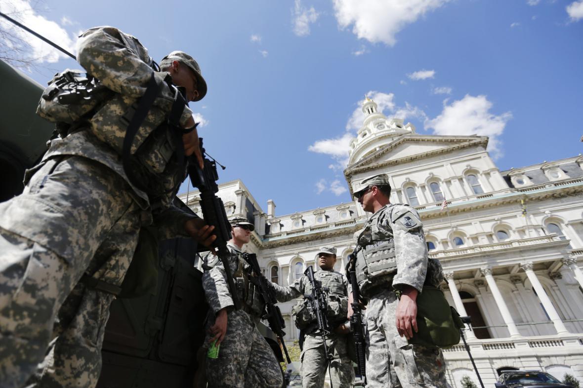 Příslušníci Národní gardy