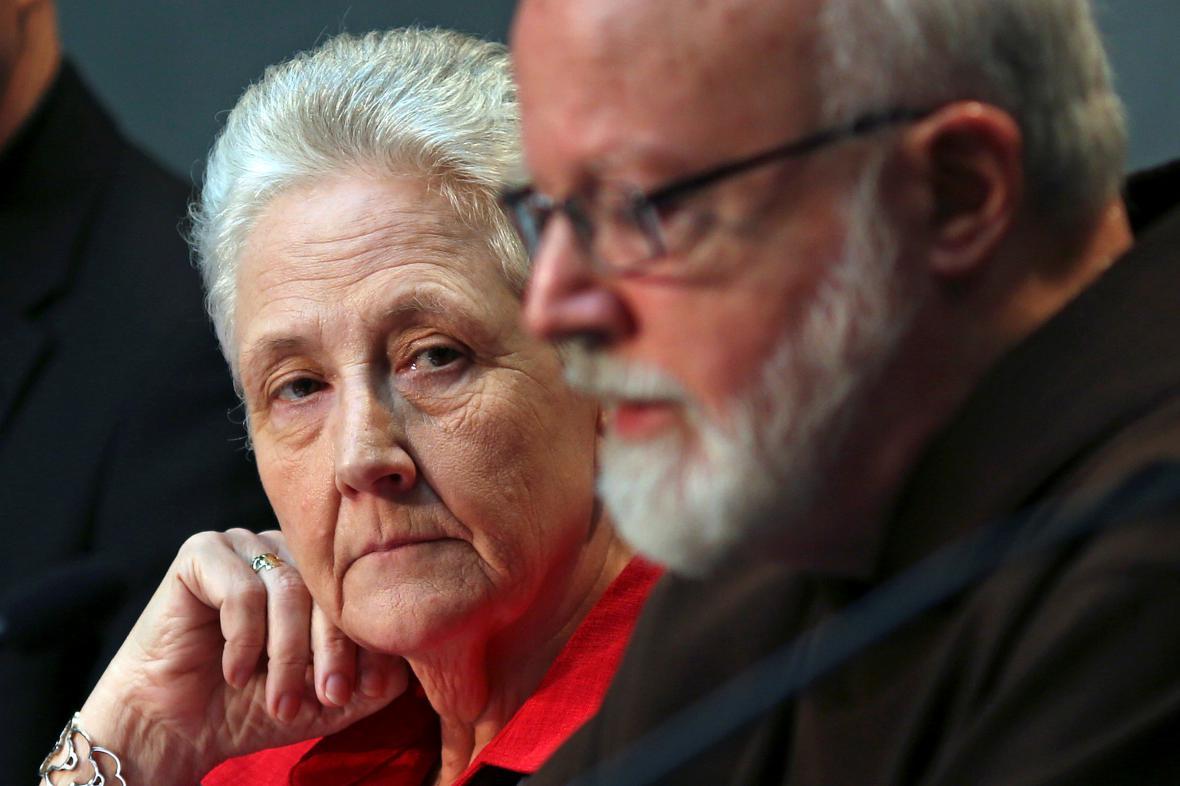 Marie Collinsová opouští vatikánskou komisi