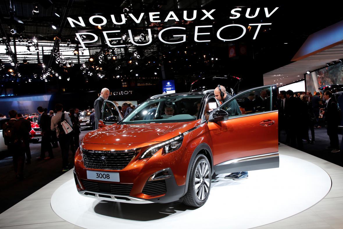 Evropské Auto roku 2017 - SUV Peugeot 3008