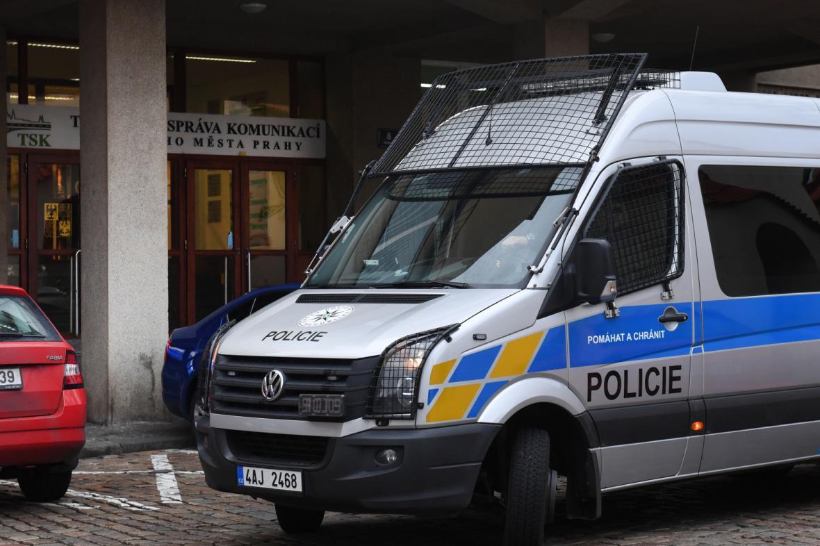 Policejní zásah na TSK