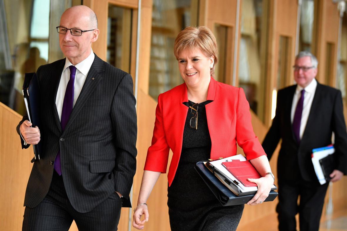 Skotská premiérka Nicola Sturgeonová
