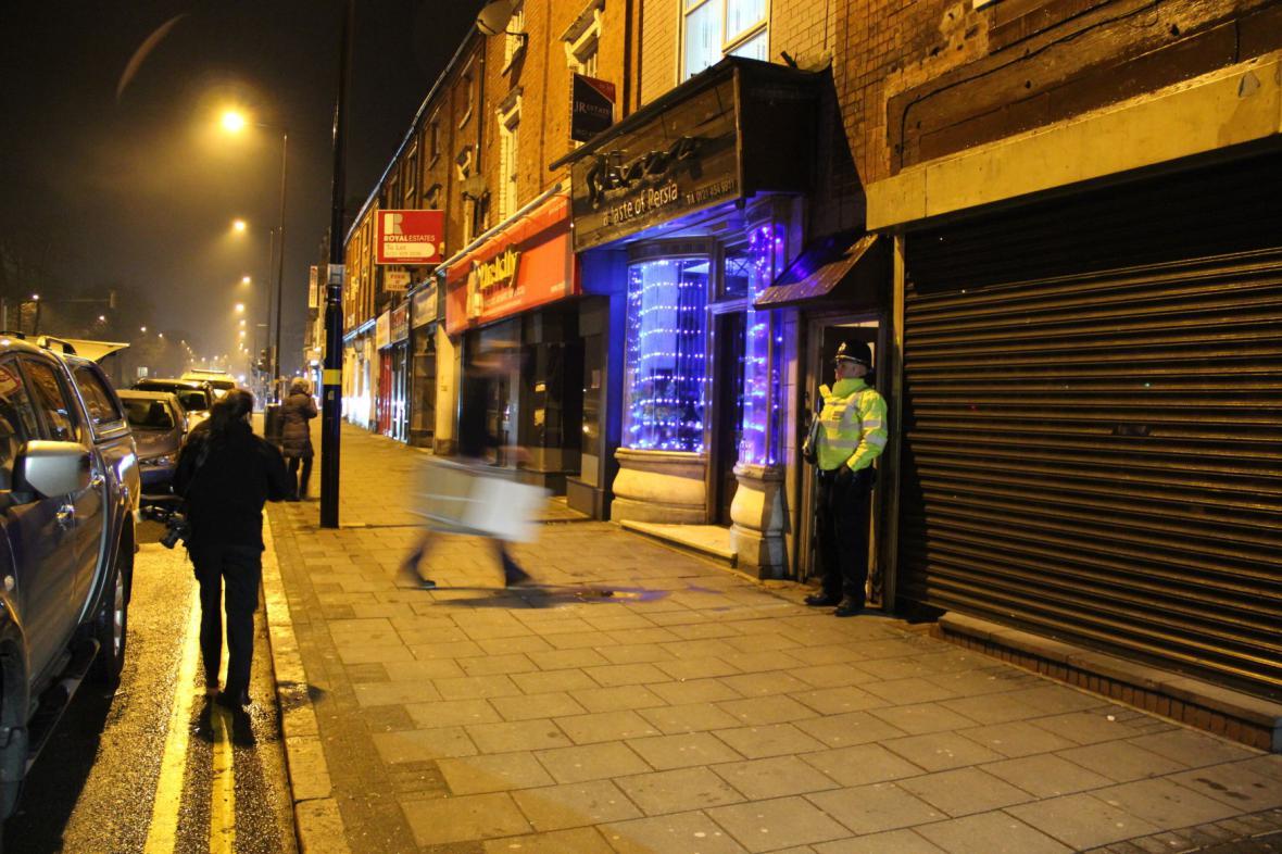 Razie v Birminghamu