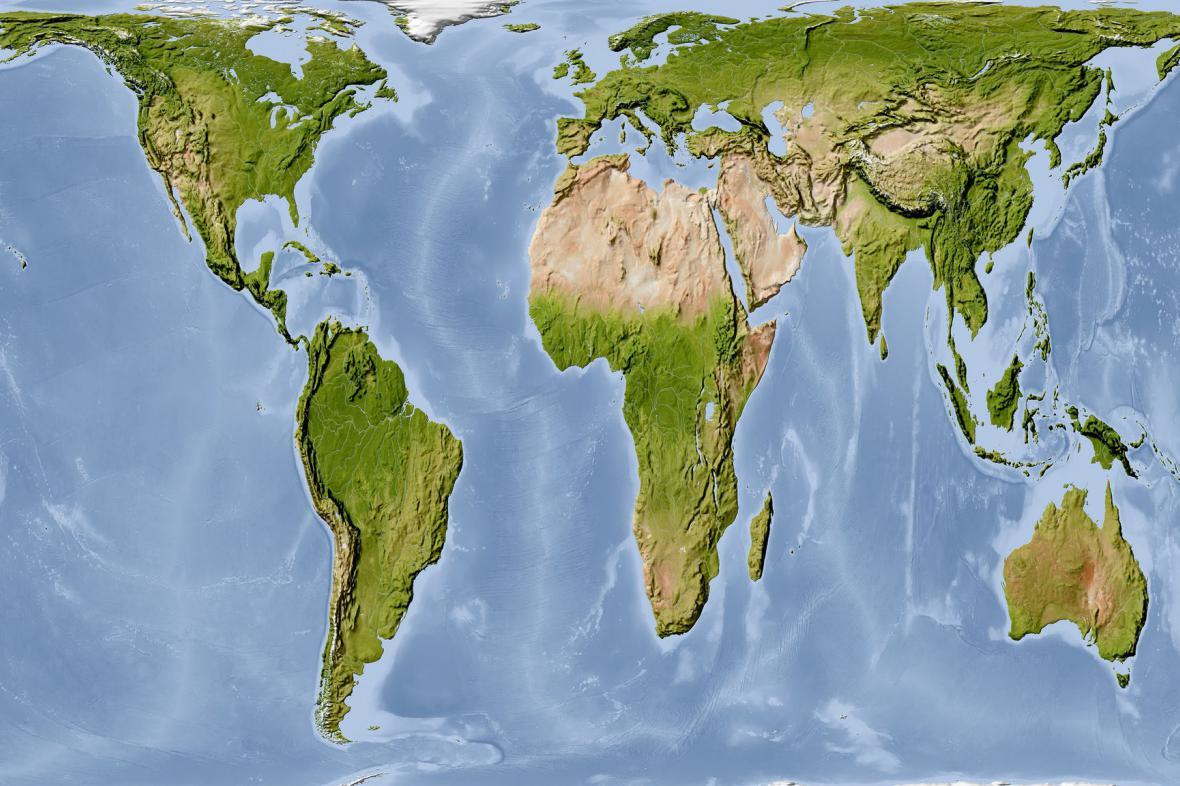 Svět v Petersově projekci