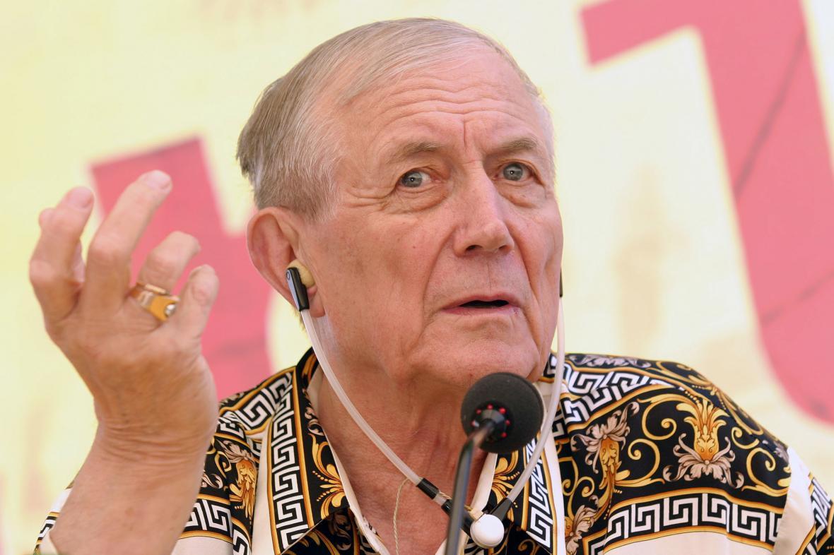 Jevgenij Jevtušenko na Slovensku v roce 2005