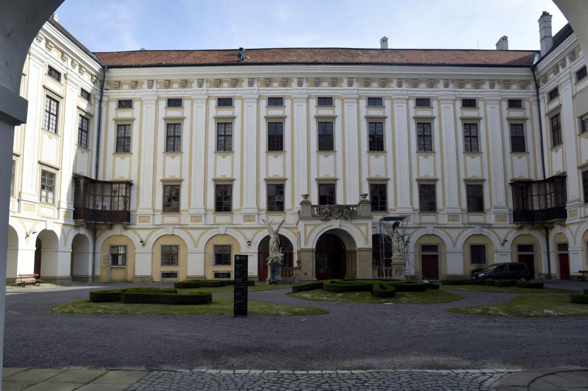 Kroměřížský zámek patří církvi