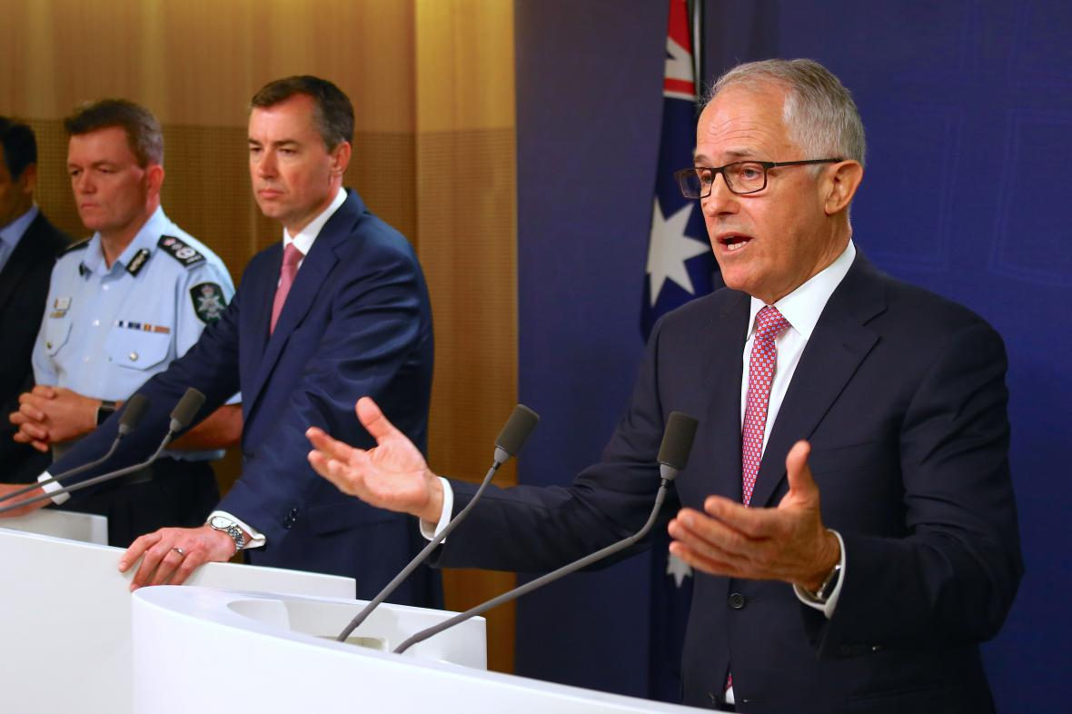 Australský premiér Malcolm Turbull