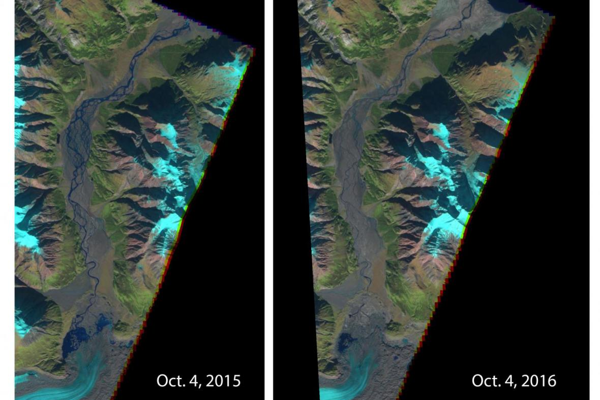 Změna ledovce