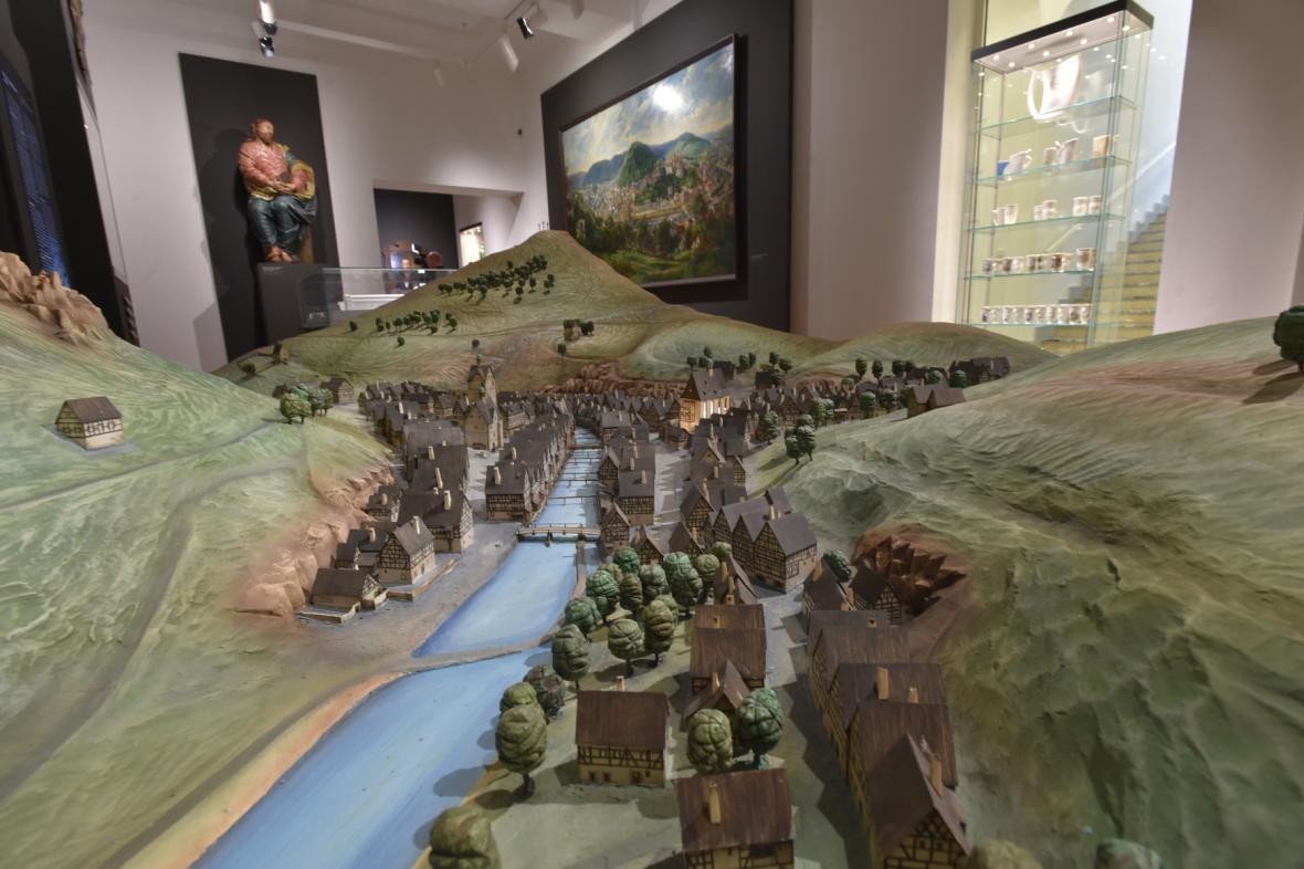 Nová expozice karlovarského muzea