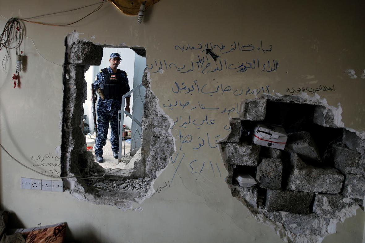 Mosul v ruinách