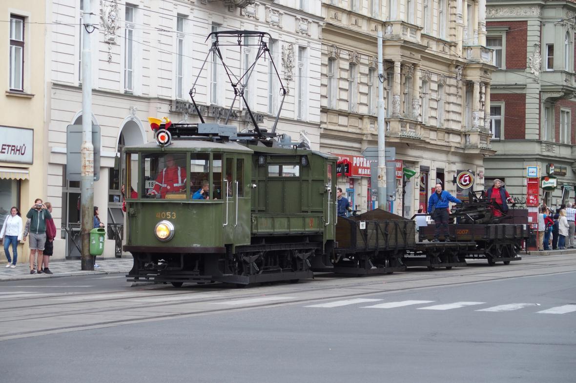 Pražská nákladní tramvaj