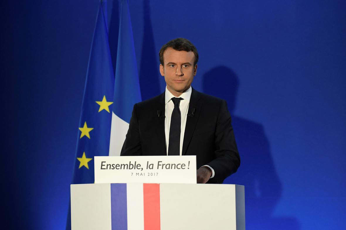 Emmanuel Macron je novým francouzským prezidentem