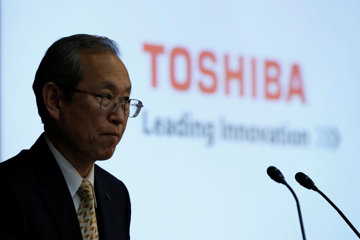 Šéf Toshiby Satoshi Tsunakawa