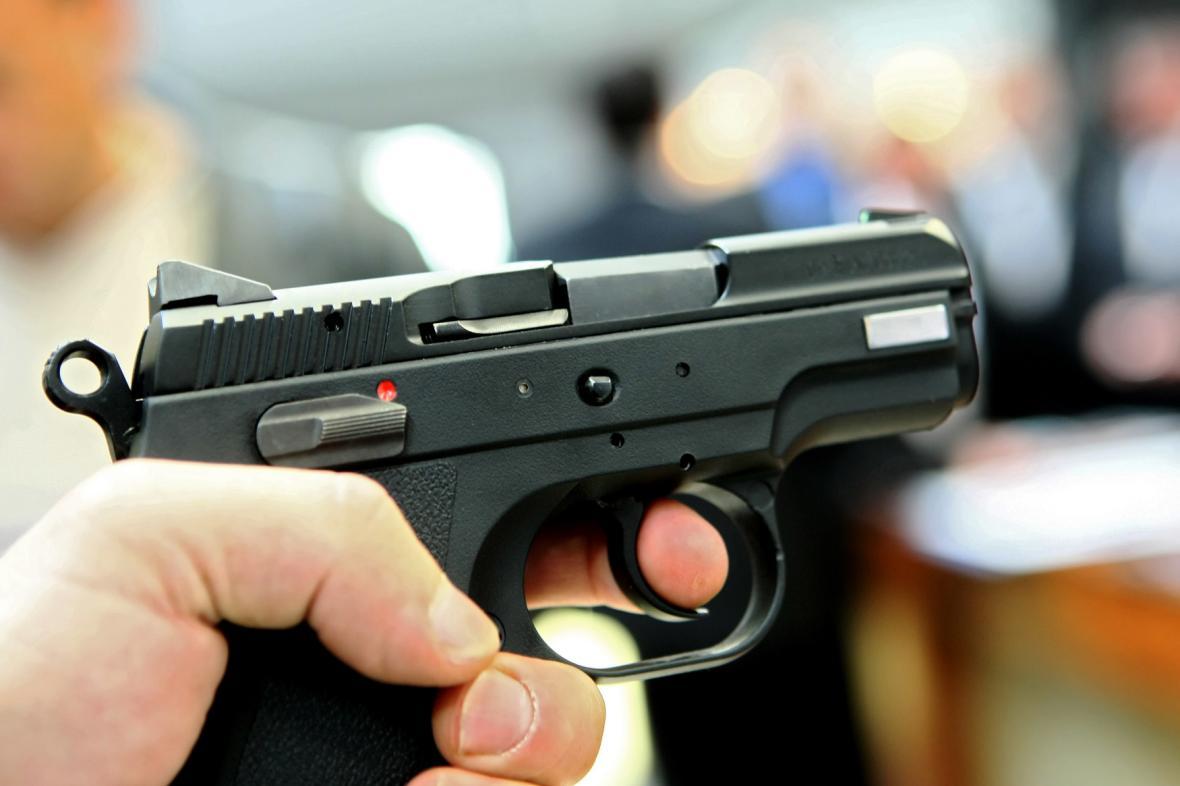 Ilustrační foto: střelba z pistole