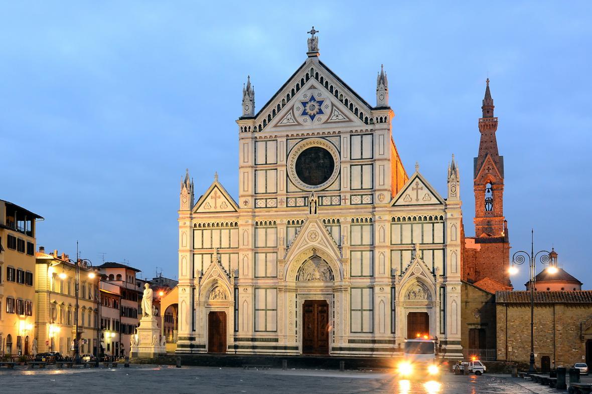 Florentská bazilika svatého Kříže
