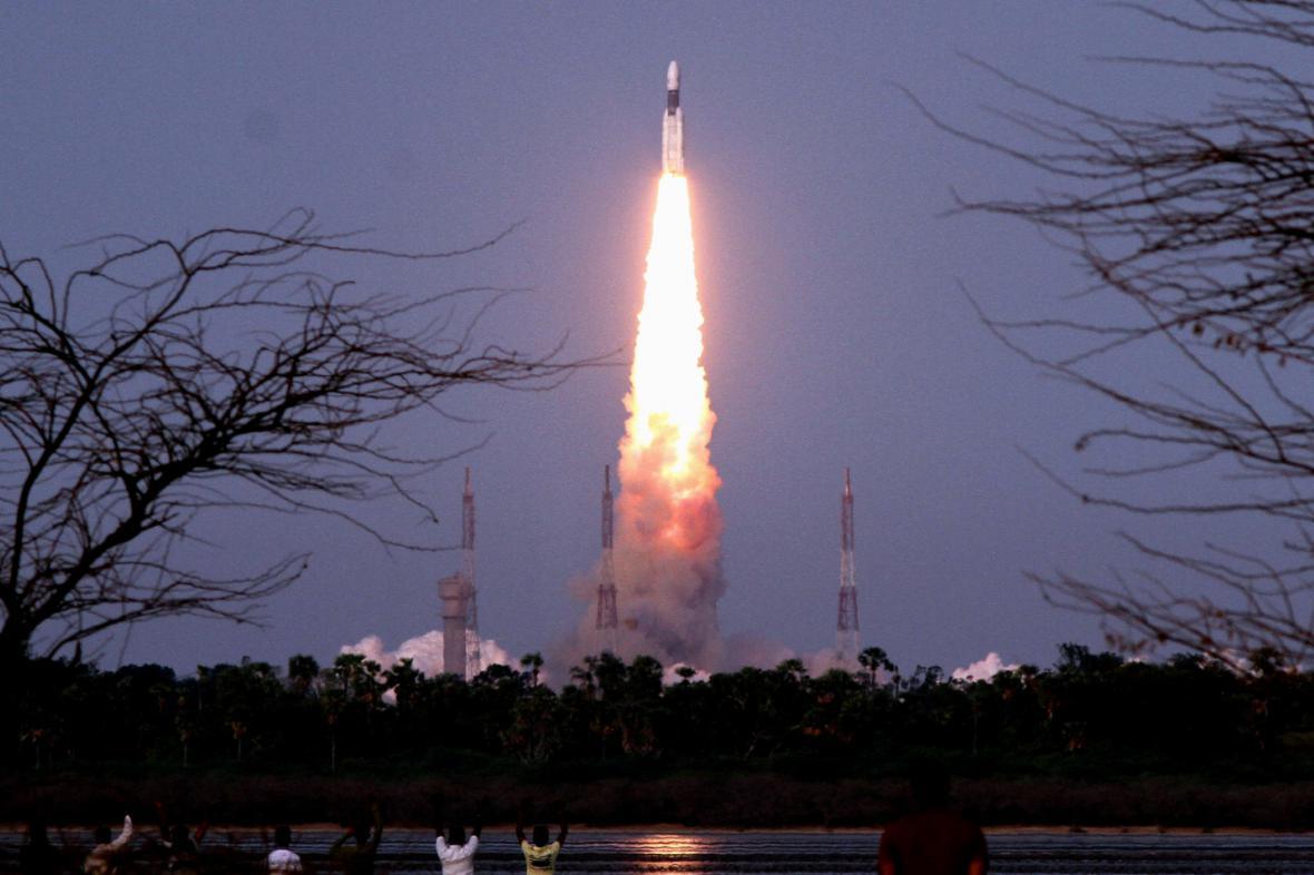 Start indické rakety