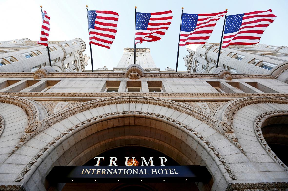 Trump International Hotel ve Washingtonu