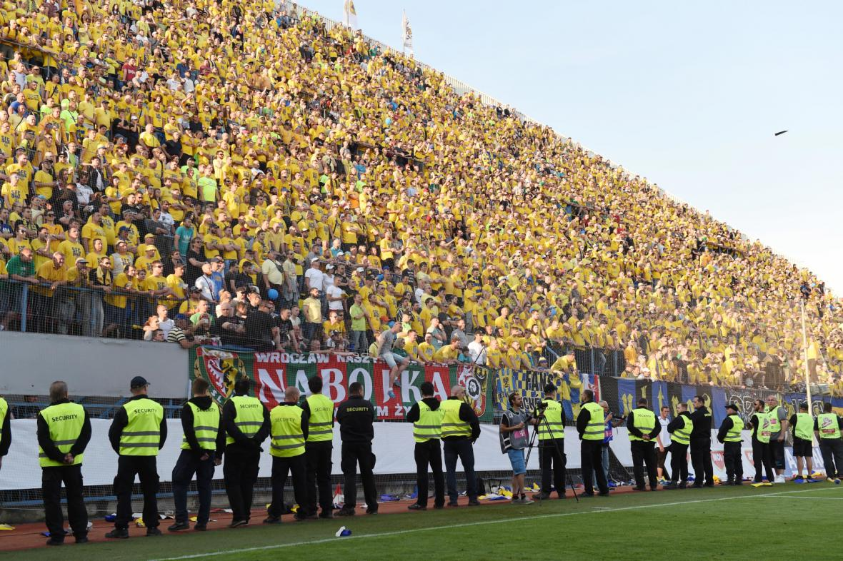 Fanoušci klubu SFC Opava