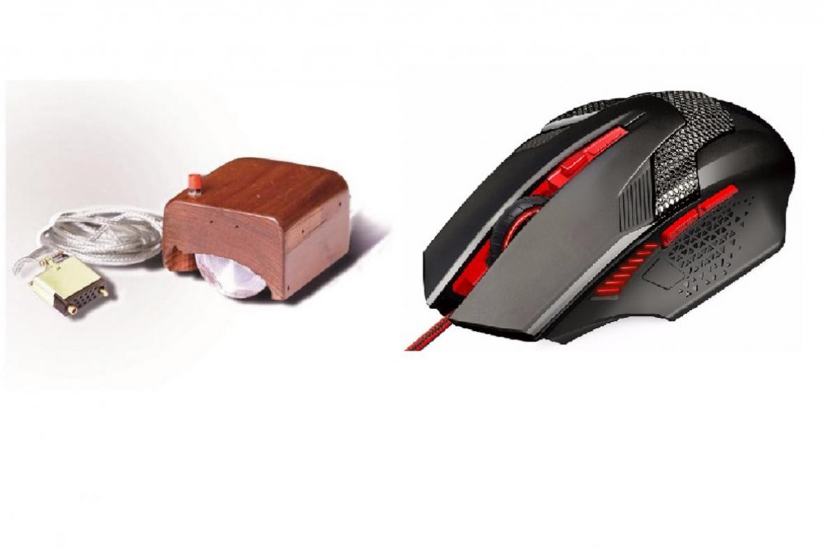 První a moderní počítačová myš