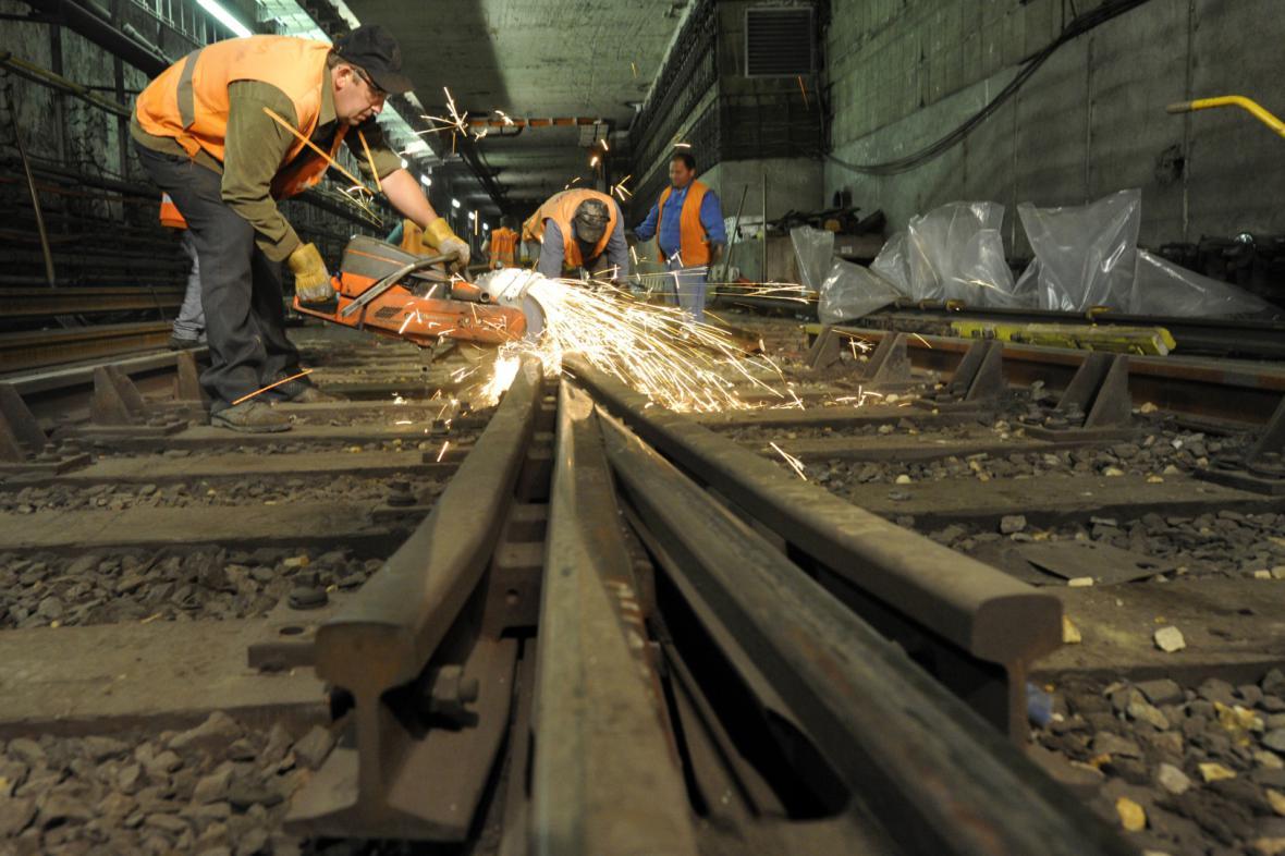 Metro C nebude v centru Prahy jezdit celý týden