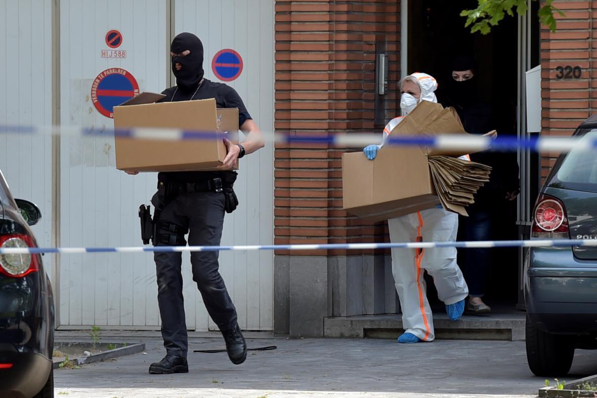 Razie kvůli pokusu o útok v Bruselu