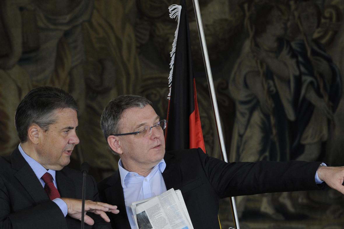 Ministři zahraničí České republiky a Německa