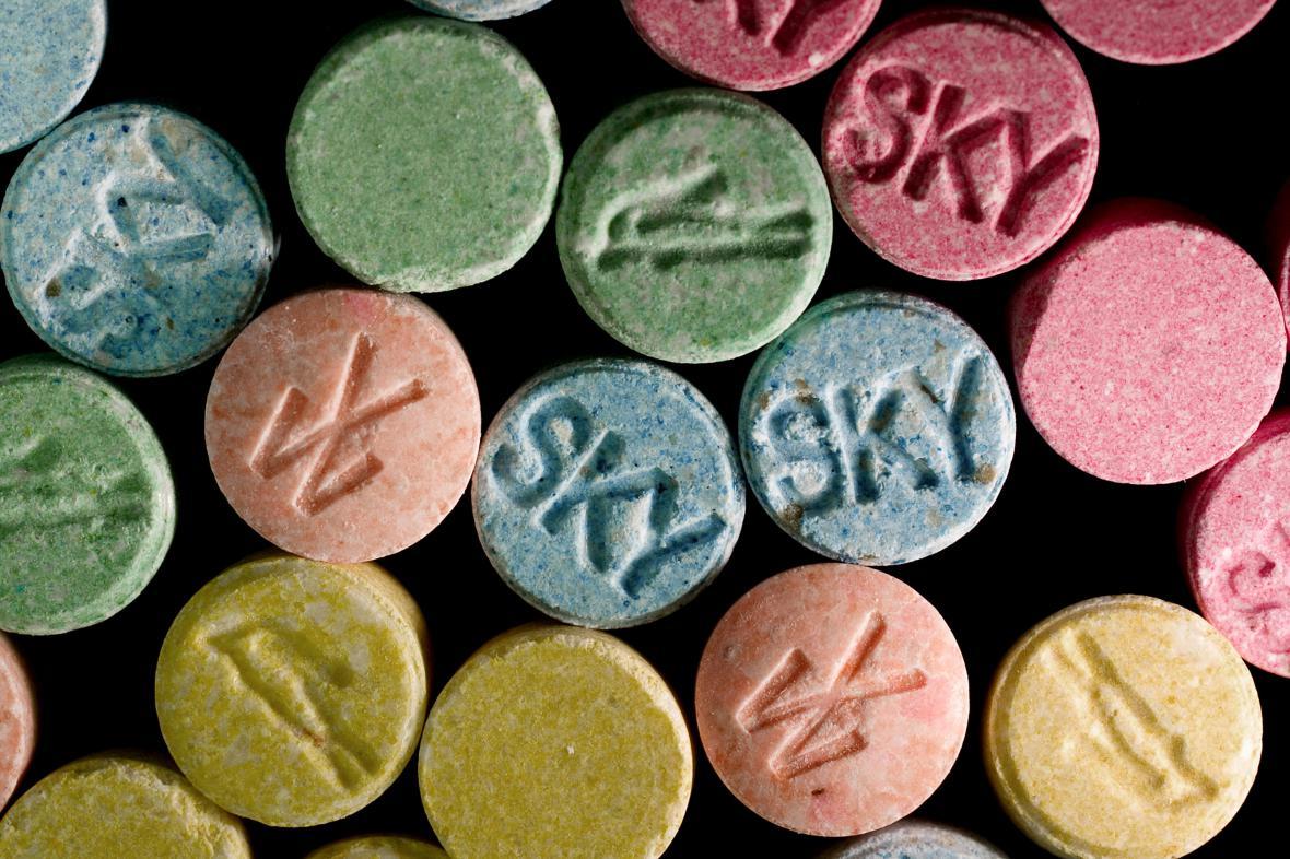 Droga MDMA (extáze)