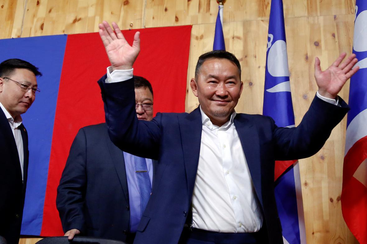 Chaltmágín Battulga se stal mongolským prezidentem