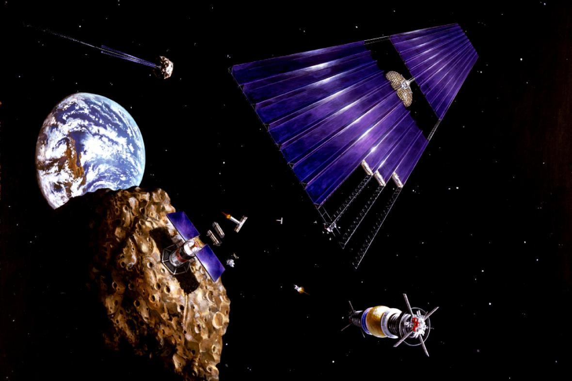 Těžba na asteroidech