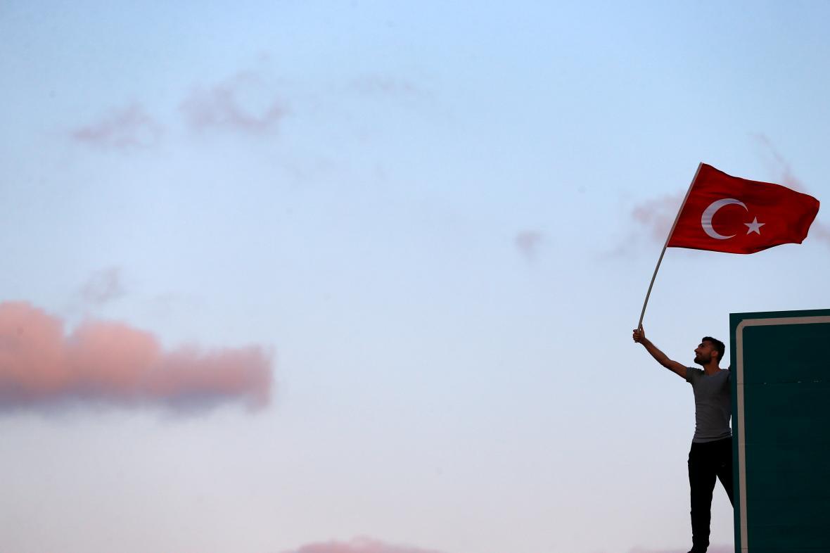 Turecko rok od puče
